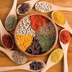 baking ingredients, seeds, spices